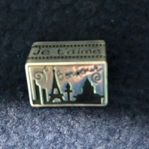 Brighton Paris postcard charm